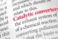 Definition of the word Catalytic converter in a dictionary