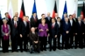 Family photo at the Polish-German government consultations in Berlin; Germany
